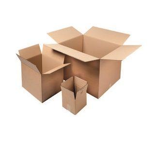 Cajas de cartón normales