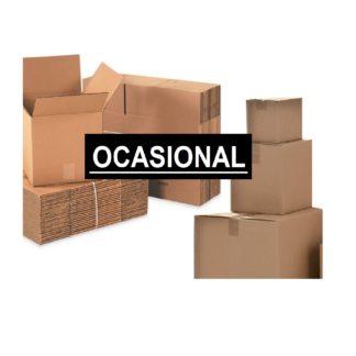Cajas ocasionalmente en stock